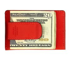 Mill Leather Clip & Fold Wallet by Jack Spade
