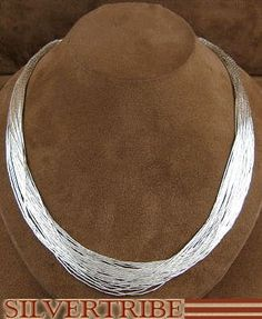 Genuine Liquid Silver only I'm going to use metallic glass beads to steampunk this Native necklace.