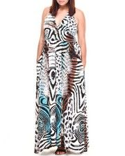 Love this Halter Safari Maxi Dress (Plus) by Apple Bottoms on DrJays. Take a look and get off your next order! Red Bottom Shoes, Fashion Catalogue, Red Bottoms, Fashion Company, Body Shapes, Dress For You, Beautiful Outfits, New Look, Safari