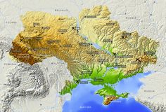 Ukraine!!! This map maybe explains why what WE saw over there seemed to be soooooooo flat!!!