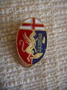 Genoa Genoa Cfc, Porsche Logo, Soccer, Red, Vintage, Italia, Futbol, European Football, European Soccer