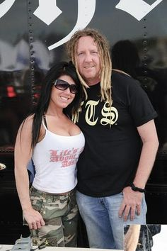 Michael Ballard Full Throttle Saloon | The famous Mike Ballard, owner of The Full Throttle Saloon, and his ...