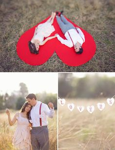 I have a giant red heart pillow, but this is awesome! I love this photo session. Cupcakes, a new idea.