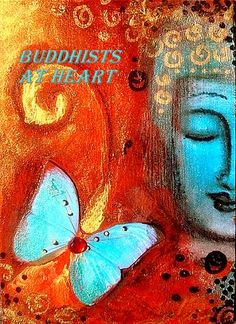 This is a graphic we created for our Twitter page for Buddhists at Heart.
