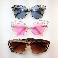 Superb flamboyant 80s styling #vintage #vintageeyewear #vintagesunglasses #1980s #80s #diamante #kingscrosseyes