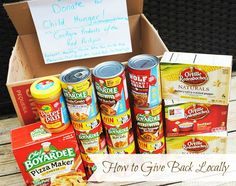 How to Give Back in Your Local Area #ChildHunger