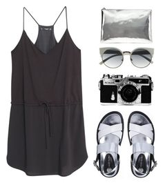 """Silver addict"" by blood-under-the-skin ❤ liked on Polyvore"