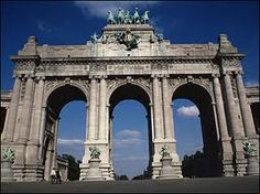 Brussels, Belgium, Cinquantenaire - this was not far from where I lived