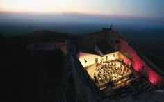 Marvão International #Music Festival 2015 | 24 Jul. - 2 Aug. - via Festival Internacional de Música de Marvão #portugal #events | The 2015 International Music Festival of Marvão is held in the midst of unique and unforgettable scenery at the summit of the highest mountain south of the Tagus, in the walled town of Marvão. More info: http://www.marvaomusic.com/