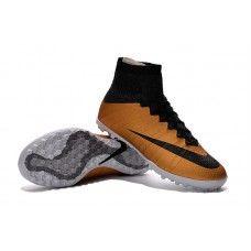 online store f9f42 5aceb Nike MercurialX Proximo TF - Garçons  école primaire métallique or Grain    Noir   Chilling