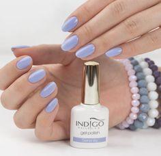 Gel Polish Serenity #new #pastel #indigo #nails #nail #nailart #blue #violet #new