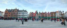 https://flic.kr/p/T57cjj | Market Place Bruges, (Brugge, Belgium) | IMG_8416_7_8_tonemapped_nw_21x9_B