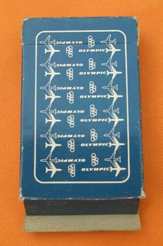 Olympic Airways Playing Cards Olympic Airlines, Commercial Aircraft, Beautiful Islands, Athens, Airplane, Morocco, Olympics, Travel Destinations, Greece
