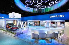 Samsung Main Exhibit CES 2015 on Behance