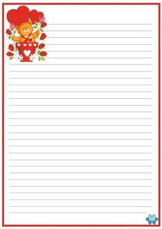 Felicidades a Dois: Papel Cartas de Amor