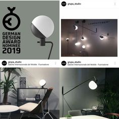 """The German Design Award is one of the most renowned international design awards and we're pleased to announce our nomination for """"Baluna"""" in category """"Excellent Product Design""""! Design Awards, German, Lighting, Athens, Product Design, Inspiration, Furniture, Inspired, Studio"""