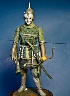 Cuman warrior  toy soldiers for collectors