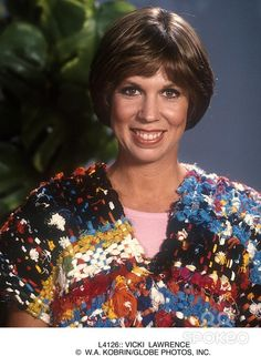 Emmy Award winning actress/comedian/singer Vicki Lawrence turns 66 today - she was born 3-26 in 1949. Boomers first met her on TVs The Carol Burnett Show in 1967-78. She also had her own TV show in the 80s, Mama's Family.