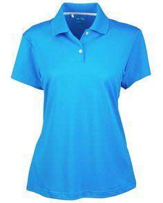 Womens Climalite Polo   Buy womens Climalite short sleeve pique polo at Gotapparel.com.
