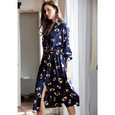 Image Wzorzysta sukienka z zapięciem na guziki atelier R