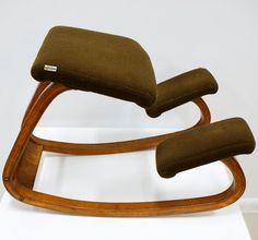 Stokke Balans - Danish Modern ergonomic chair.