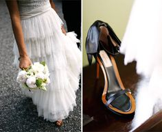 gramercy park wedding belathee photography3 jcrew wedding designers dress she designed for her own wedding day with cool Valentino shoes!