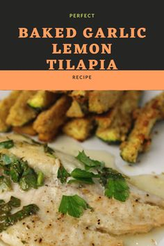 Dinner is really quick and easy with this lemon garlic tilapia. The fish comes out full of the sweet flavors that my picky eaters loved so much. You can adjust the spice to suit the taste also if the sauce is too tic, you can always add more oil and lemon. Lemon Tilapia, Tilapia Fish Recipes, Baked Garlic, Picky Eaters, Spices, Suit, Chicken, Dinner, Baking