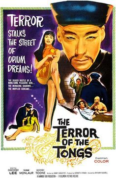 The Terror Of The Tongs - 1961 - Movie Poster