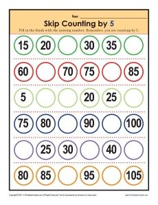 Worksheets Counting By 5s Worksheet 1000 images about cursive writing worksheets on pinterest skip math by fives 5 s forward eyfs ks1 maths counting mods gr2 backward