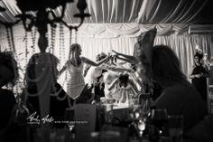evening wedding celebrations