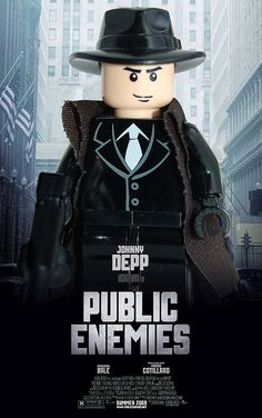 Public Enemies LEGO poster | Flickr - Photo Sharing!