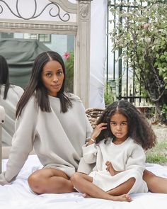 Beautiful Family, Beautiful Children, Beautiful Babies, Mother Daughter Outfits, Future Daughter, Cute Little Baby, Baby Love, Family Outfits, Kids Outfits
