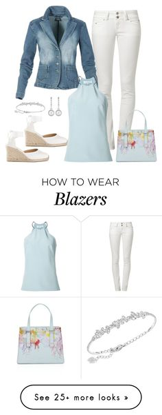"""""""Untitled #912"""" by gallant81 on Polyvore featuring LTB by Little Big, KaufmanFranco, Monet, Swarovski and Ted Baker"""