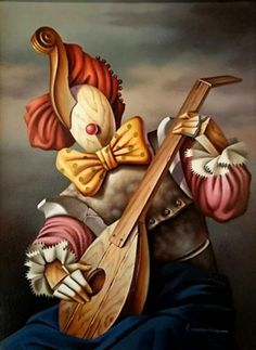 ►Vito Campanella◄1932 ~~ Pintor Surrealista italiano, residente en Argentina. Surrealism Painting, Arte Horror, Wow Art, Weird Art, Wassily Kandinsky, Surreal Art, Art Pictures, Fantasy Art, Modern Art