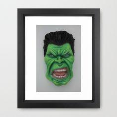 Brutal Force Framed Art Print by asprisvisualart Superhero Villains, Framed Art Prints, Sculptures, Creatures, Sculpting, Sculpture, Statue