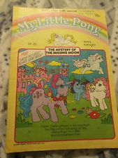 My little pony G1 comic - number 30 - includes free gift!