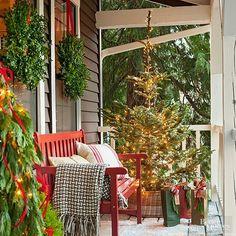Porch ideas for christmas