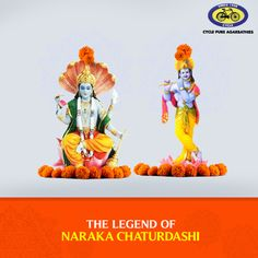 Naraka Chaturdashi marks the second day of Diwali. Legend has it that on this day the demon King Narakasur was killed by Lord Krishna with the help of Satyabhama. According to another legend, Naraka Chaturdashi is celebrated because it's believed that King Bali, who was killed by Vamana (an incarnation of Lord Vishnu), revisits earth during this time. #PureDevotion #Diwali #Festival