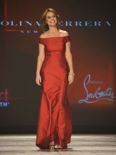 Savannah Guthrie - The Heart Truth 2013 Fashion Show