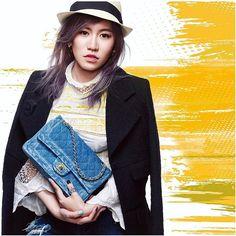 浪漫蕾絲搭水洗丹寧有時衝突組合能讓你與眾不同 來去看ELLE造型總監穿搭tips與命定小香的故事 >>http://pics.ee/1YH2 #My1stCHANEL #ChanelBR4REOPEN #我的命定小香 #ootd #tbt #jeans #mixandmatch  via ELLE TAIWAN MAGAZINE OFFICIAL INSTAGRAM - Fashion Campaigns  Haute Couture  Advertising  Editorial Photography  Magazine Cover Designs  Supermodels  Runway Models