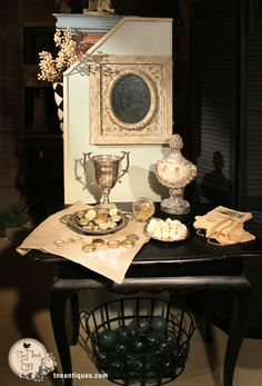 For the collector of silver, clocks, shells and a mix