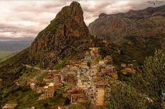 Village kabyle au pied du Djurdjura