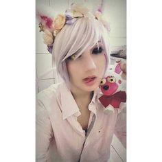 Mangle.. or almost. I was lazy to make it right  [#FNAF#FNAFCosplay#fivenightsatfreddys#fnaf2cosplay#TheMangle#MangleFNAF#MangleCosplay#cosplayer#fivenightsatfreddys2#Makeup#artisticmakeup#FoxyThePirate#FoxyFNAF#manglethefox#Cute#Creepy#gamecosplay#horrorgame#fnafcosplayer#FuntimeFoxy#FuntimeFoxyFnaf#FnafSisterlocation#Hazy_Cosplayer#manglemale#FuntimeFreddyFNAF#ToyFreddy#Fnaf2#MarionetteFNAF#foxyfnaf#toyfoxy ]