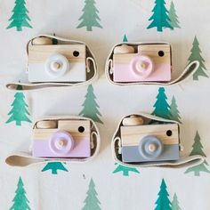 Baby Kids Cute Wood Camera Toys Children Fashion Clothing Accessory Safe And Natural Toys Birthday Christmas Gift A676
