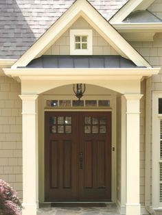 Brown roof house colors choosing a shingle color lucius roofing company for the home - Metal exterior paint model ...
