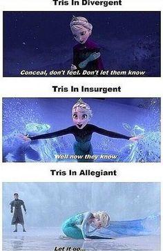 Divergent~~Frozen mix