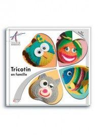 Tricotin en famille, 40 sujets, Néva Editions & Bergère de France