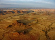 Namibia From air