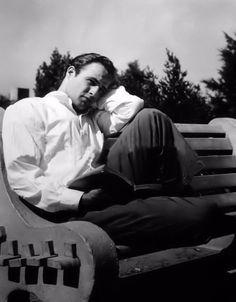 Marlon Brando Circa 1950.
