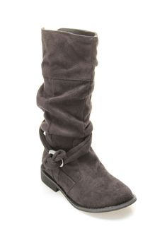 Girls' Too Bootleg Boot-I love boots and the color gray, a match made in heaven